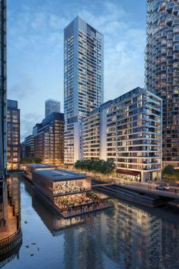 10 Park Drive Canary Wharf
