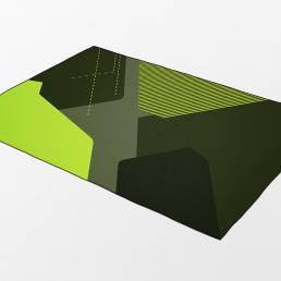 Dawn A1 rug green