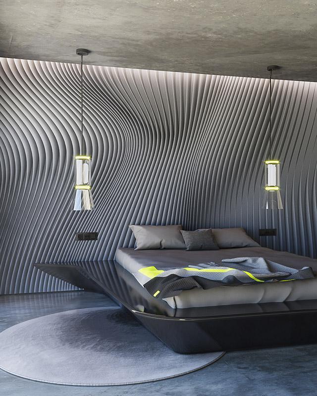 Flow dark wallpaper by Gerard Puxhe