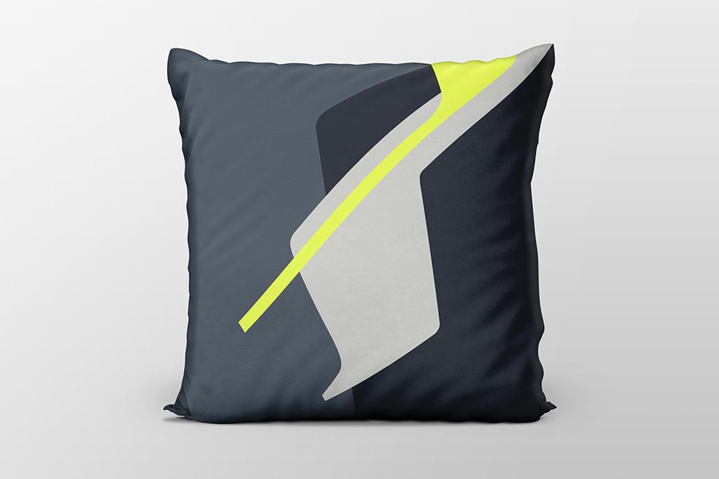 Dawn F6 yellow cushion by Gerard Puxhe
