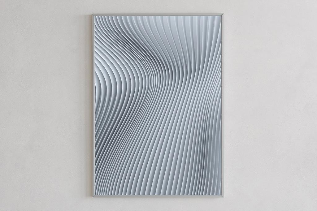 Flow print 01 light by Gerard Puxhe