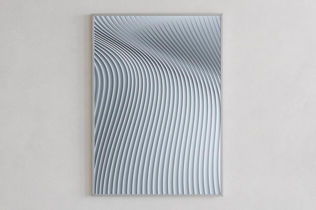 Flow print 02 light by Gerard Puxhe