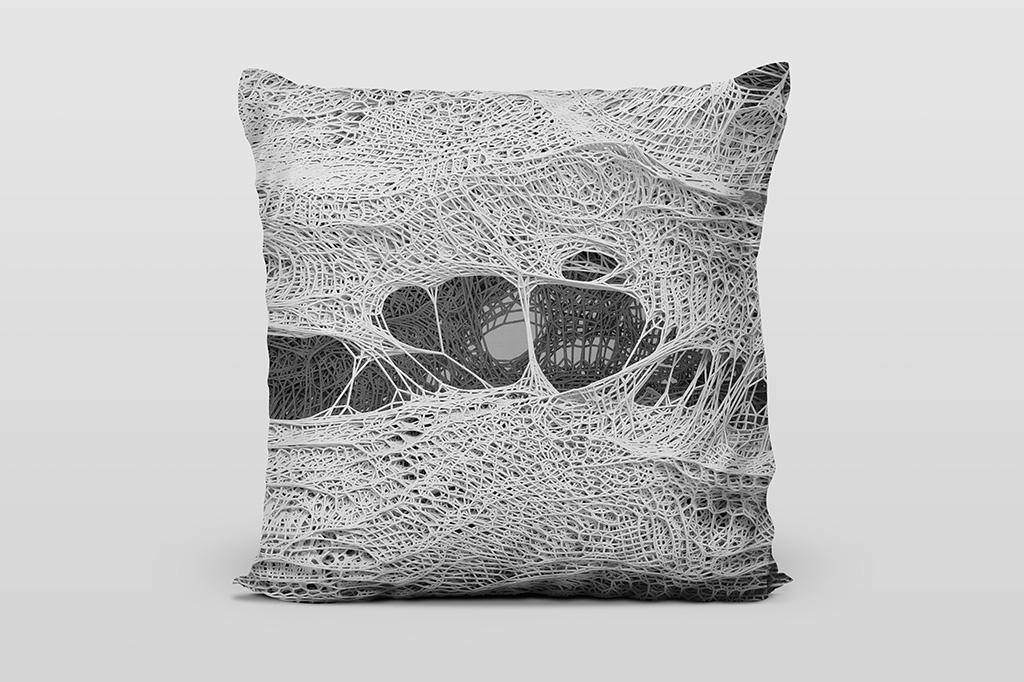 Mesh A1 light cushion by Gerard Puxhe