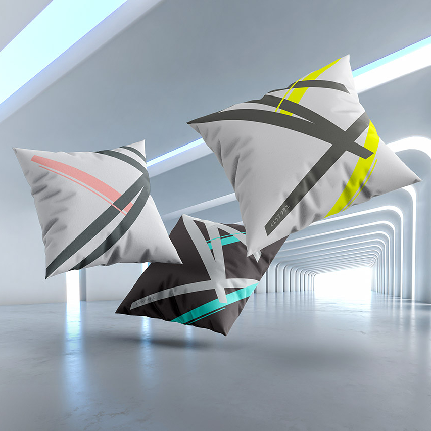 Kai cushions collection by Gerard Puxhe