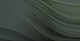 Twist dark green wallpaper by Gerard Puxhe