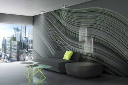 Twist wallpaper by Gerard Puxhe