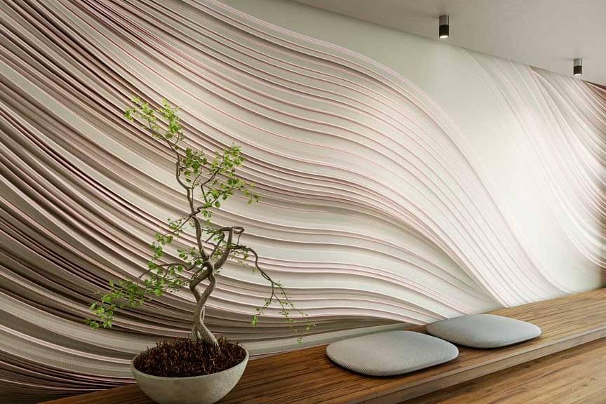 Twist wallpaper by Gerard Puxhe