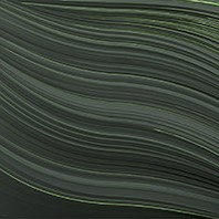 Twist dark green wallpaper by Gerard Puxhe