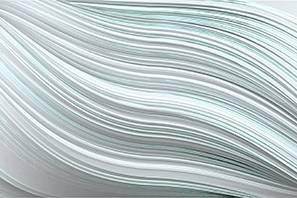 Twist light grey wallpaper by Gerard Puxhe