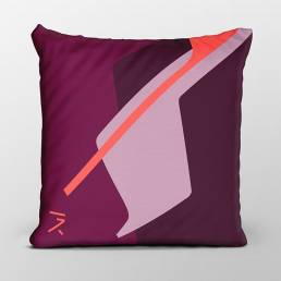 Dawn orange cushion