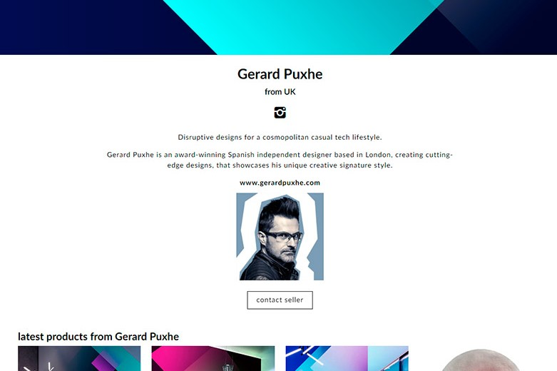 Gerard Puxhe Designboom Shop
