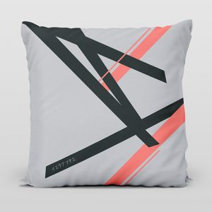 Kai coral light cushion