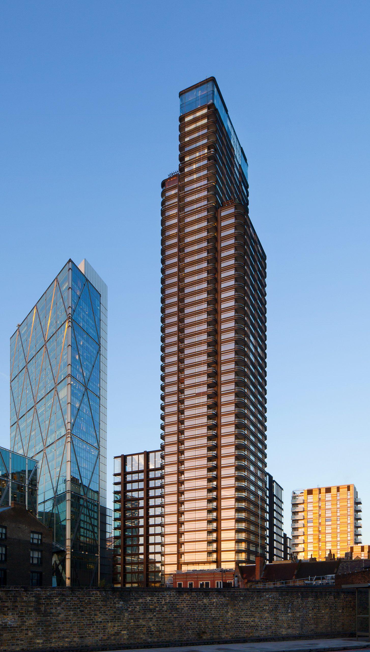 Principal Tower development by Concord London