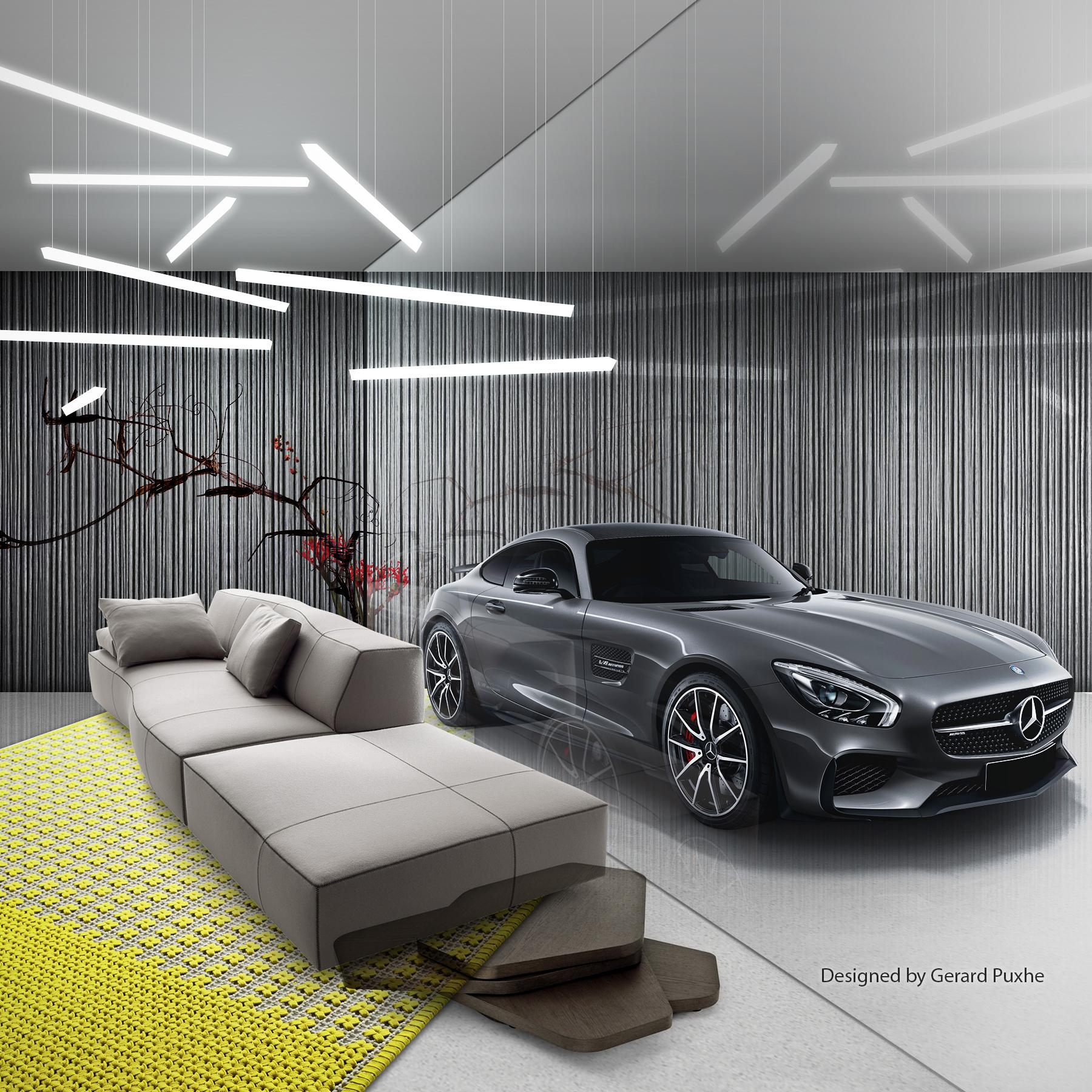 Trophies - Interior design by Gerard Puxhe